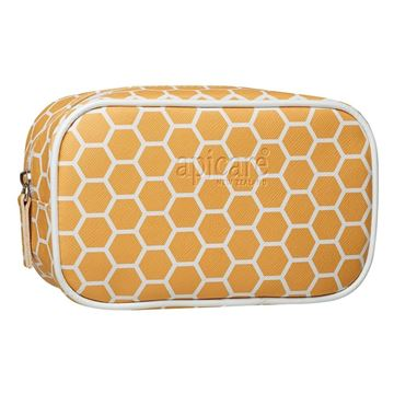 Picture of Hexagon pattern cosmetic bag