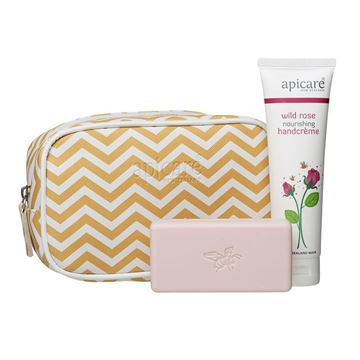 Picture of Gift bag with wild rose handcreme & soap