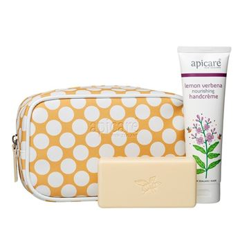 Picture of Gift bag with Lemon Verbena handcreme & honey soap