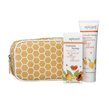 Picture of Gift bag with mango handcreme & lip butter