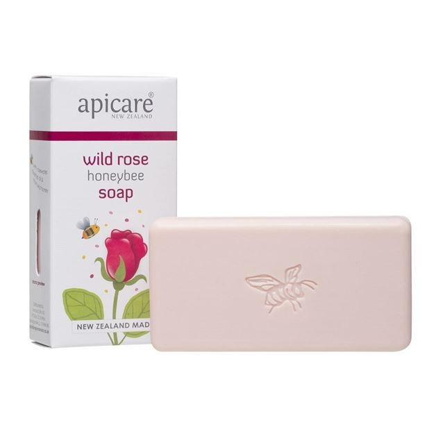 Picture of Wild Rose creamy soap