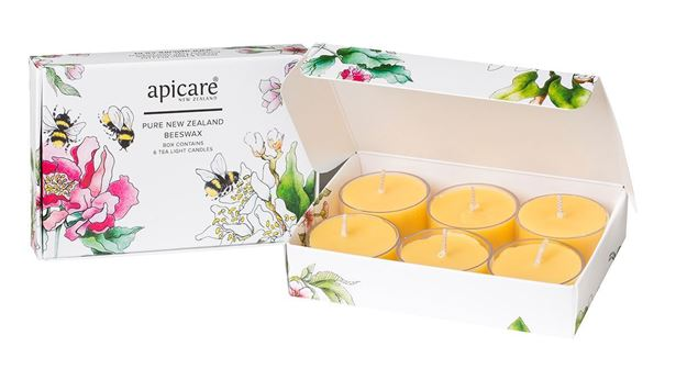 Picture of Peach Blossom Tea Light Candles