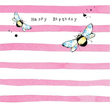 Picture of Bee Card Happy Birthday