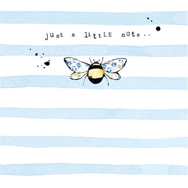 Picture of Bee Card - Just a Little Note