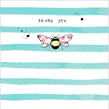 Picture of Bee Card - Thank You